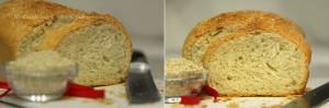 Хлеб пшеничный с кунжутом