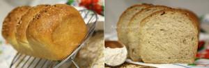Хлеб цельнозерновой с посыпкой