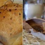 Пшеничный хлеб с семенами льна