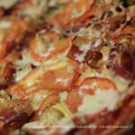 Пицца мясная на дрожжевом тесте