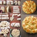 Плетение для булочек или каравая