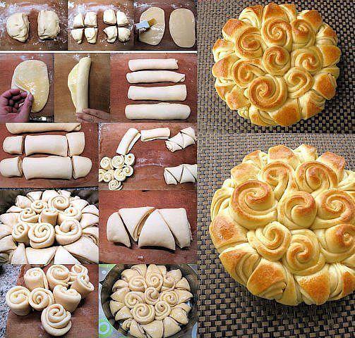 Схемы плетения булочек