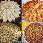 Пирог - цветок