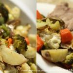 Запеченные овощи в духовке