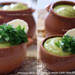 Гороховый суп пюре с базиликомГороховый суп пюре с базиликом