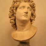 Александр Македонский или Александр Великий (356 г. - 326 г. до н.э.). Бюст в Капиталийском музее (Рим).