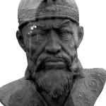 Тамерлан или Тимур ибн Тарагай Барлас (1336 г. - 1405 г.). Облик, реконструированный по результатам исследования его останков.