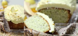 Кекс с лимоном и маком