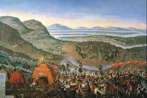 Венская битва в 1683 году. Репродукция.