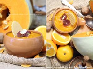 Крем суп из тыквы с апельсином
