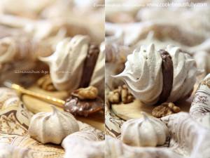 Безе шоколадное с Нутеллой