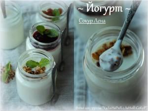 Йогурт на закваске Наринэ