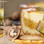Апельсиново-творожный пирог
