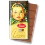 Молочный шоколад Аленка