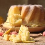 Лимонный кекс с творогом