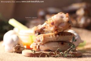 Крылья гриль в духовке