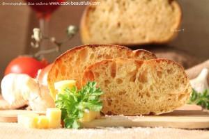 Итальянский томатный хлеб
