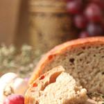 Гречишный хлеб на ночной опаре