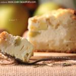 Пирог с ревенем и творогом