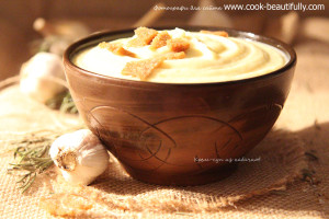 Крем суп из кабачка