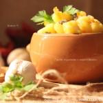 Тушеные грибы с картошкой