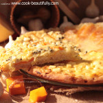 Пирог сырный с тыквой
