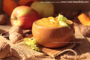 Тыквенно яблочный суп пюре от Арналя