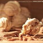 Ореховый поцелуй - пирожное безе с кремом