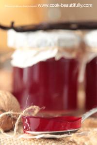 Конфитюр из красной смородины