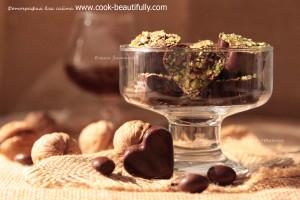 Конфеты с инжиром и орехами
